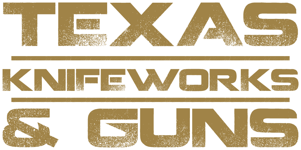 texas knifeworks and guns logo